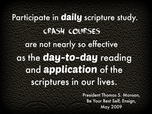 daily scripture study