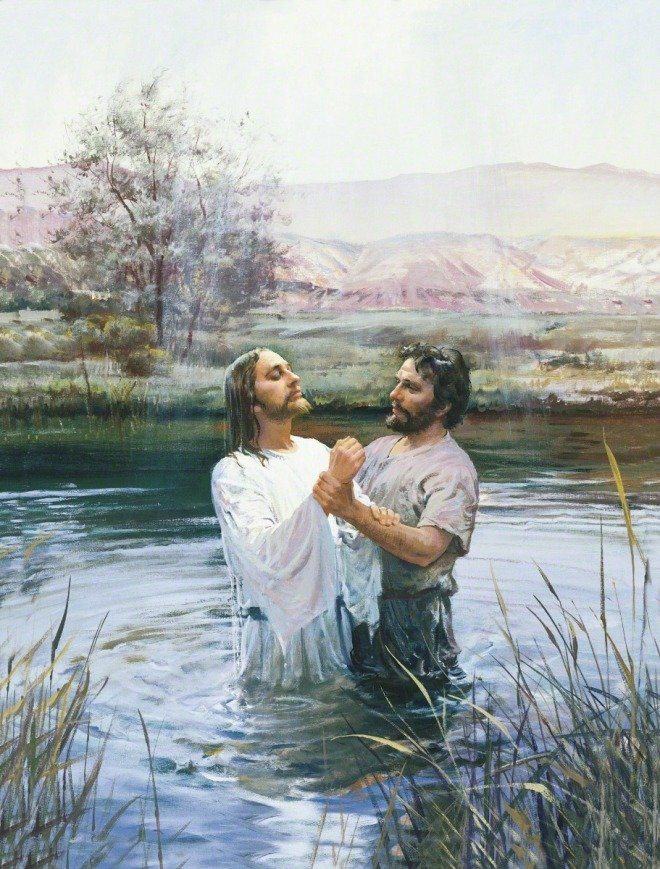 """""""'To fulfill the law,' said Jesus, when the baptist questioned why."""""""