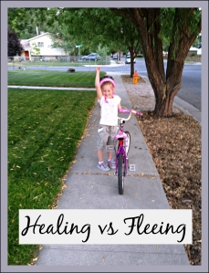 Riding without training wheels